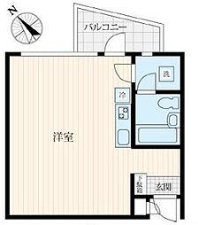 FM8城北ハウス[303号室]の間取り
