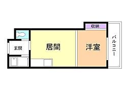 北海道札幌市東区北十五条東1丁目の賃貸マンションの間取り