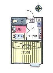 メゾン オランジュ[2階]の間取り