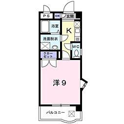 エトワール S・K[0101号室]の間取り