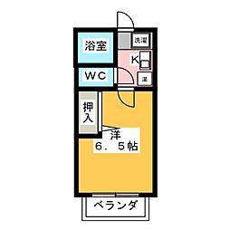 メゾン・フォンテーヌ[2階]の間取り