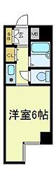 ノアーズアーク桃谷21[7階]の間取り