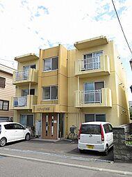 北海道札幌市白石区本郷通4丁目北の賃貸マンションの外観