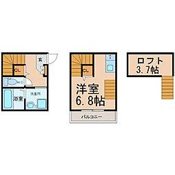 La Ciel菊井 (ラシエルキクイ)[1階]の間取り