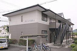 京都府木津川市加茂町里土堀の賃貸アパートの外観