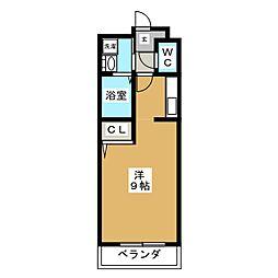 ビューティー藤ノ木[2階]の間取り