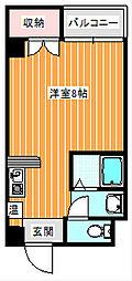 セラ徳島[2階]の間取り