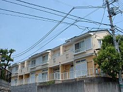 千葉県習志野市谷津の賃貸アパートの外観