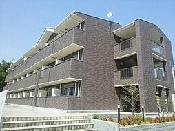 滋賀県湖南市下田の賃貸マンションの外観
