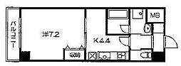 パレ・ド・エトワール    (仮)田中南西浦町マンション)[205号室号室]の間取り