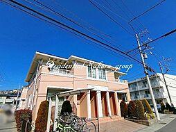 神奈川県小田原市荻窪の賃貸アパートの外観