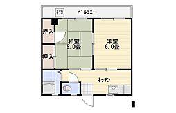 エミネンスミシマ[302号室]の間取り
