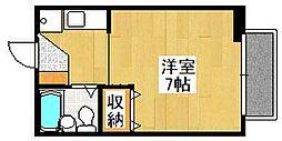 ボナール桃山[102号室]の間取り