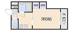 N428Bd[2階]の間取り