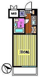 セントヒルズ武蔵浦和[2階]の間取り