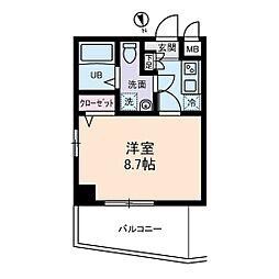フェニックスII・アムス亀戸[0201号室]の間取り