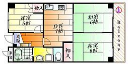 レジデンス青葉丘[1階]の間取り