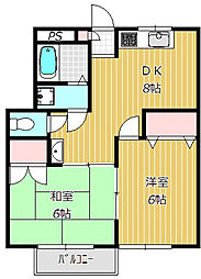ハイツセイハ[1階]の間取り