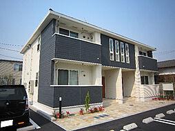 愛媛県松山市水泥町の賃貸アパートの外観