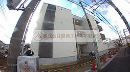 大阪府堺市西区浜寺石津町東2丁の賃貸アパートの外観