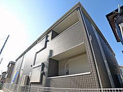 埼玉県越谷市神明町1丁目の賃貸アパートの外観