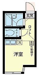 ユナイト 藤崎エルカーノの杜[2階]の間取り