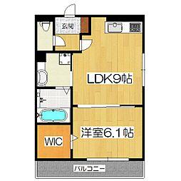 Cozy Cote 西野(仮:西野小柳町D-room)[1階]の間取り