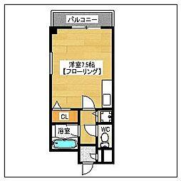 ボンメゾン[701号室]の間取り