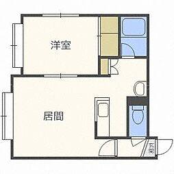 プライムハウス金澤[3階]の間取り
