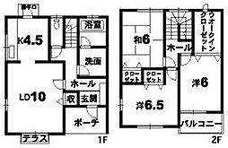 [一戸建] 徳島県徳島市南沖洲2丁目 の賃貸【/】の間取り