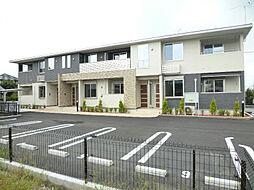 静岡県磐田市長森の賃貸アパートの外観