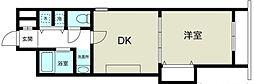 ノルデンハイムリバーサイド十三II[5階]の間取り