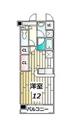 スプランドゥールヴィラ[1階]の間取り