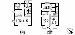 [タウンハウス] 広島県広島市安佐南区川内5丁目 の賃貸【/】の間取り