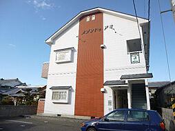 愛媛県松山市市坪南2丁目の賃貸アパートの外観