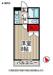 サンA[2階]の間取り