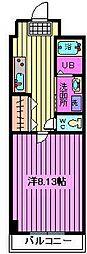 埼玉県さいたま市緑区大字大門の賃貸アパートの間取り