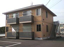 群馬県太田市内ケ島町の賃貸アパートの外観