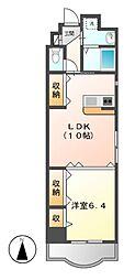 第13オオタビル[3階]の間取り