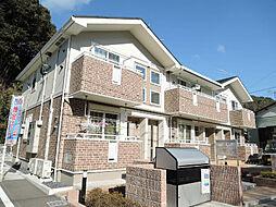 福岡県北九州市若松区二島4丁目の賃貸アパートの外観