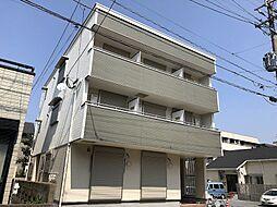福岡県北九州市戸畑区境川2丁目の賃貸アパートの外観