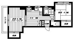 ニューハイム[3階]の間取り