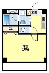 愛知県豊田市若宮町3丁目の賃貸マンションの間取り