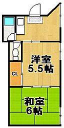 第2オグラマンション[A302号室]の間取り