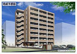 福岡県北九州市小倉北区萩崎町の賃貸マンションの外観
