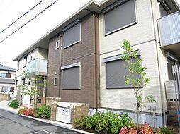 大阪府河内長野市木戸西町3丁目の賃貸アパートの外観