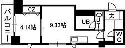 PRIME URBAN円山[00803号室]の間取り