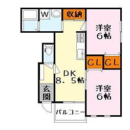 新築仮 ホーリー壱番館[1階]の間取り