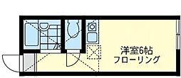 ユナイト浅田アンソニーの杜[2階]の間取り