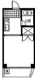 コーポ廣建設[502号室]の間取り